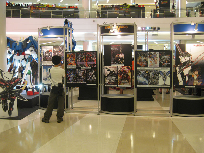 Exhibition Booth Bangkok : Gundam exhibition in bangkok thailand gears